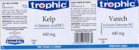Trophic Kelp & Glutamic Acid HCl